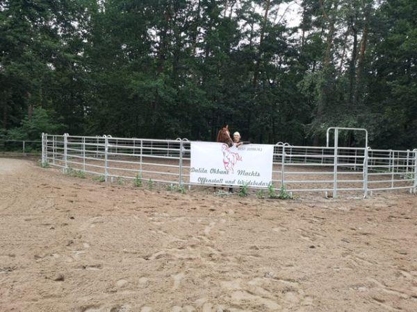 Roundpen 13 m mit Lieferung empf v.Katja Schnabel